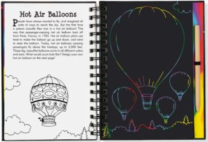 Scratch & Sketch Take Flight (Trace Along) Book