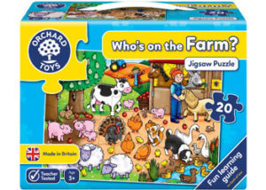 Orchard Jigsaw Who's on the Farm Puzzle 26pc