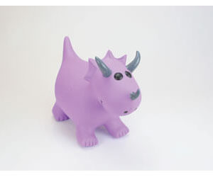 Happy Hopperz Purple Triceratops SM