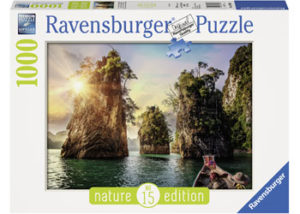 Ravensburger The Rocks in Cheow Thailand Puzzle 1000pc