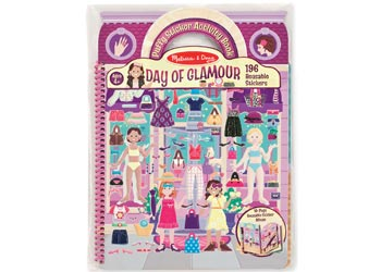 M&D Day of Glamour Puffy Sticker Activity Book