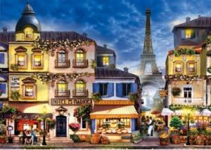Ravensburger Pretty Paris XL Format Puzzle 300pc