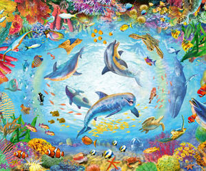 Ravensburger Cave Dive Puzzle 500pc