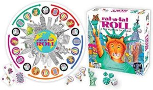 Gameswright Rat-A-Tat Roll Dice Game
