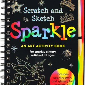 Scratch & Sketch Sparkle (Trace Along) Book