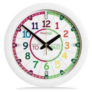 Easy Read Time Teacher Clock