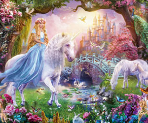 Ravensburger Magical Unicorn Puzzle 100pc
