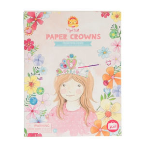 Tiger Tribe Paper Crowns Princess Gems