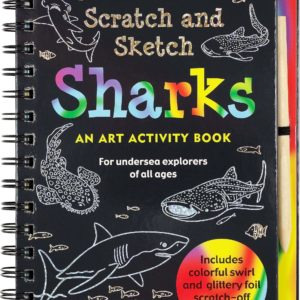 Scratch & Sketch Sharks (Trace Along)