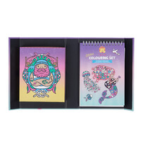 Tiger Tribe Ocean Dreams Glitter Colouring Set