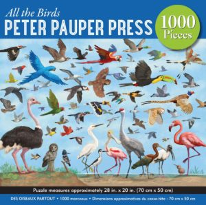 All the Birds Puzzle 1000pc