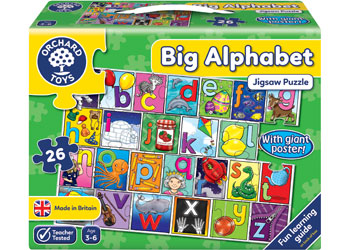 Orchard Toys Big Alphabet Floor Puzzle & Poster