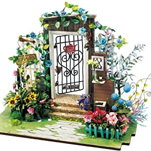 DIY Garden Entrance Miniature House