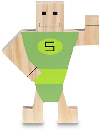 BS Toys Stackman Wooden