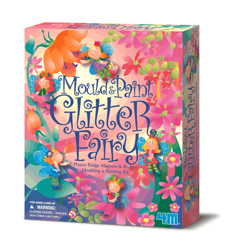 4M Glitter Fairies Mould and Paint