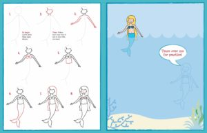 Learn to Draw...Unicorns, Mermaids & More! Young Artist Series