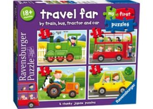 Ravensburger My First Puzzle Travel Far 2 3 4 5Pc