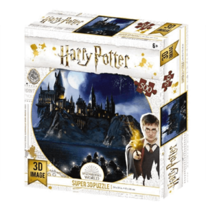 Boats to Hogwarts Harry Potter Prime 3D Puzzle 500pc