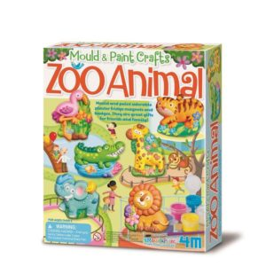 4M Zoo Animals Mould & Paint