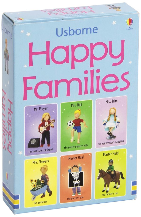Usborne Happy Families Card Game