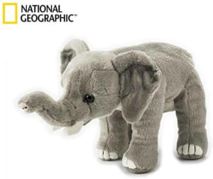 Elephant African 23cm National Geographic