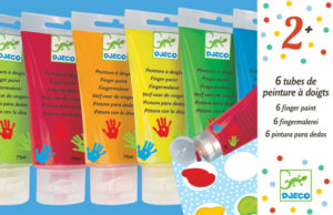 Djeco DJ8860 Finger Paint Set