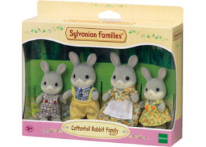 SF 4030 Cottontail Rabbit Family