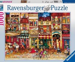 Ravensburger Streets of France Puzzle 1000pc
