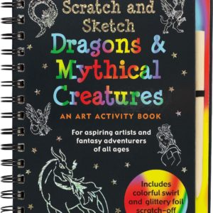 Scratch & Sketch Dragons & Mythical Creatures (Trace-Along) Book