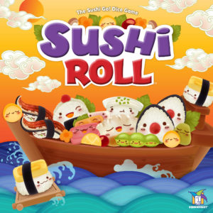 Gamewright Sushi Roll Sushi Go Dice Game
