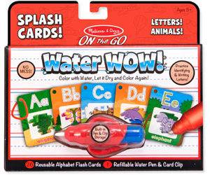 M&D Water WOW! Splash Cards Letters!