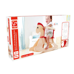 Hape Grow with me Rocking Horse Wooden