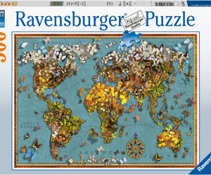 Ravensburger World of Butterflies 500pc Puzzle
