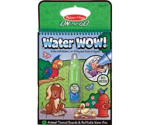 M&D On the Go Water WOW! Animals