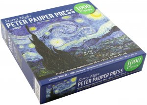 Starry Night Vincent Van Gogh Puzzle 1000pcs