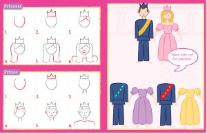 Learn To Draw Princess Kingdom