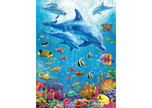 Ravensburger Pod of Dolphins 100pc