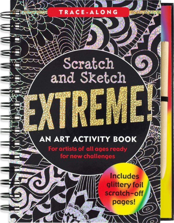 Scratch & Sketch Extreme (Trace Along) Book