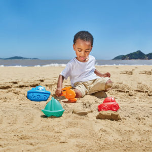 Hape Travel Sand Mould Set