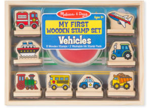 M&D My First Stamp Set Vehicles