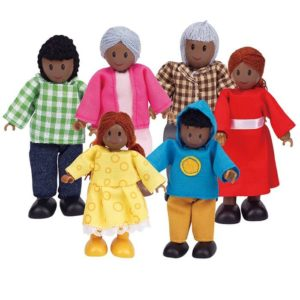 Hape African Family 6 Figures