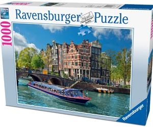 Ravensburger Canal Tour in Amsterdam Puzzle 1000 pc