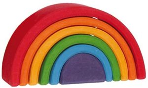 Grimms Mini Stacking Rainbow