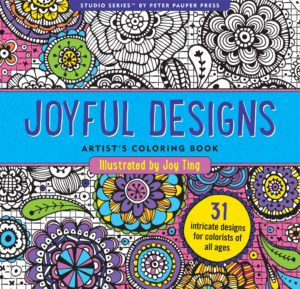Studio Series Joyful Designs Artist's Colouring Book