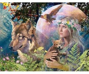 Ravensburger Lady of The Forest Puzzle 3000pc