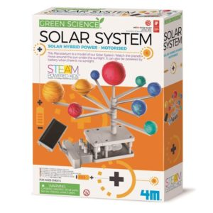 4M Solar System Kit Green Science