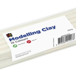White Modelling Clay 500g