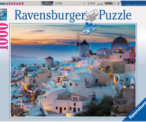 Ravensburger Evening In Santorini Puzzle 1000pc