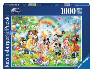 Ravensburger Disney Mickeys Birthday Puzzle 1000pc