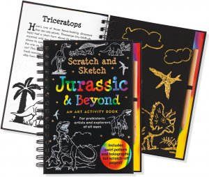 Scratch & Sketch Jurassic and Beyond Book